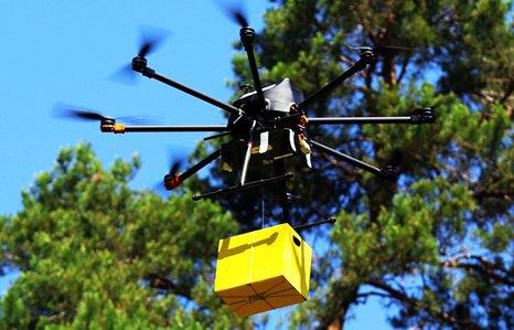 """""""Укрпошта"""" протестувала дрон для доставки посилок"""