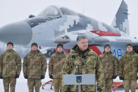 Россия стянула к границе с Украиной около 80 тыс. военных, - Порошенко