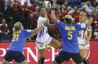 Украинки проиграли скандинавским сборным на ЧЕ по гандболу