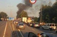 Водитель фуры, снесшей ВАЗ на Житомирской трассе, пришел в полицию с адвокатом
