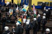 В Германии курды побились с чеченцами