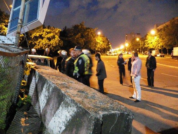 ДТП на вулиці Волкова, Київ