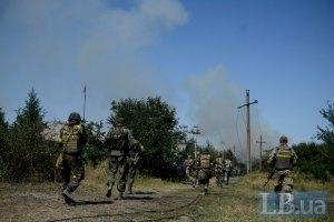 Силы АТО наступают возле Хрящеватого Луганской области, - СНБО