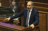 Парламент Вірменії призначив вибори нового прем'єр-міністра на 24 жовтня