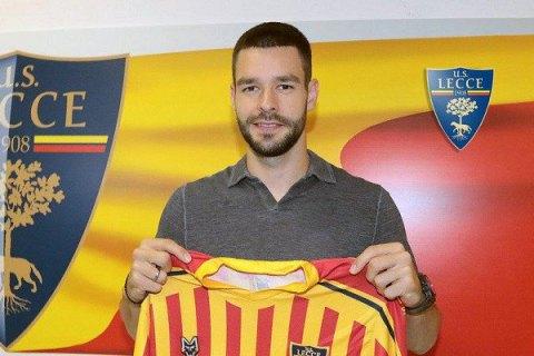 Клуб Серії А представив українця як новачка команди