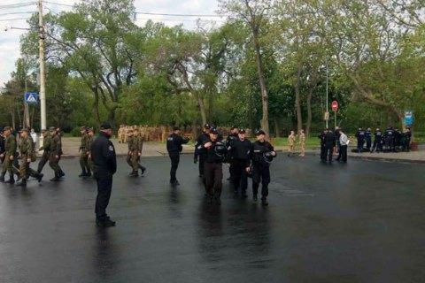 В Одессе полиция задержала более 20 человек в День победы над нацизмом