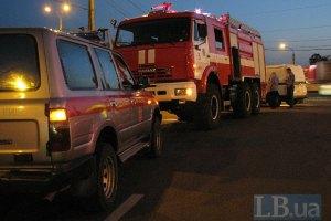 На Закарпатье ночью горел локомотив пассажирского поезда