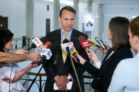 Спикер польского Сейма Сикорский ушел в отставку