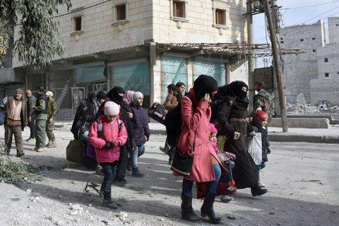 Зі східного Алеппо евакуювали 19 тисяч людей, - ООН