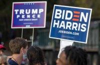 Facebook супроводжує пости Трампа про перемогу попередженням, що результати виборів ще не оголошені