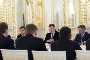 Янукович: мета закону про амністію - мир в Україні