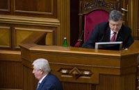 Порошенко схвалює дії Шокіна щодо суддів