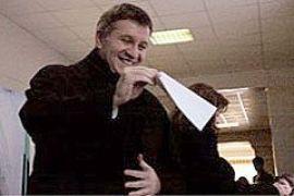 Аваков голосовал с женой, сыном и охраной