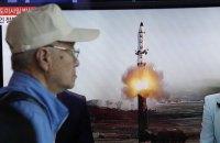 Северная Корея совершила новый пуск ракеты