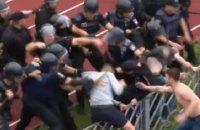 26 осіб затримали за хуліганство на футбольному матчі в Черкасах
