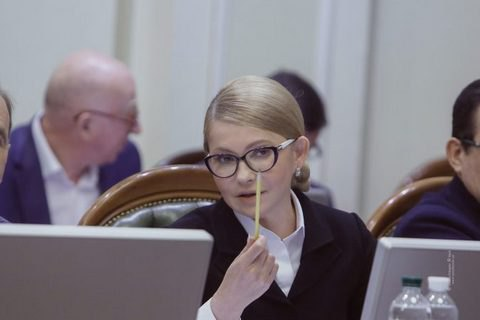 Тимошенко хочет дополнить молодую команду в парламенте своим опытом