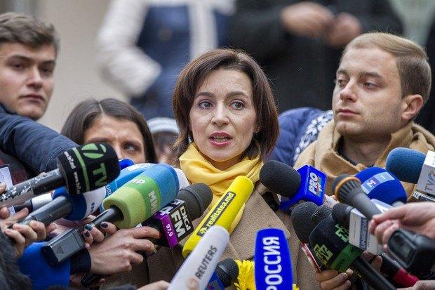 Майя Санду о результатах выборов