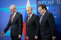 Баррозу призвал Путина остановить поток оружия и боевиков в Украину