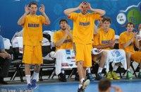 Украина попала во вторую корзину при жеребьевке Евробаскета-2015