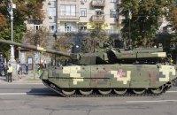 """На параде в Киеве покажут танк """"Ятаган"""""""