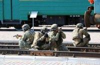 СБУ провела антитерористичні навчання на залізничному вокзалі в Харкові