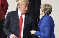 """Трамп раскритиковал предложенный Мэй план """"брексита"""""""