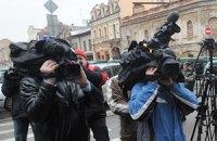 Возле прокуратуры оператору сломали камеру
