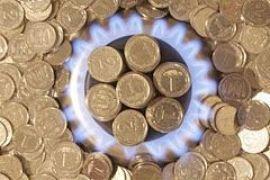 В 2010 году газ для населения подорожает вдвое