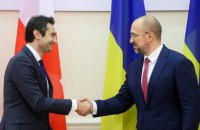 Шмигаль обговорив з головою парламенту Грузії посилення співпраці між країнами