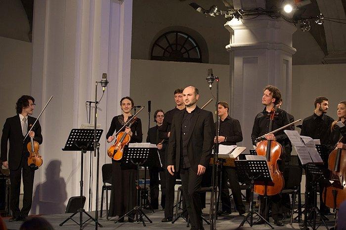 Міхеїл Менабде і його Armonia Ludus під час Kyiv Contemporary Music Days, Київ