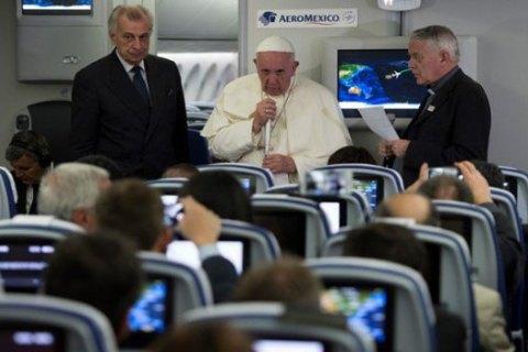 """Папа Франциск прокоментував інтерв'ю голови УГКЦ щодо """"гаванської декларації"""""""