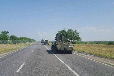 У Придністров'ї біля українського кордону зауважили російську військову техніку