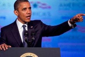 Обама поддержал мирный протест украинцев