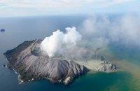 В Новой Зеландии началось извержение вулкана