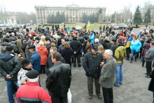 Акция в Николаеве
