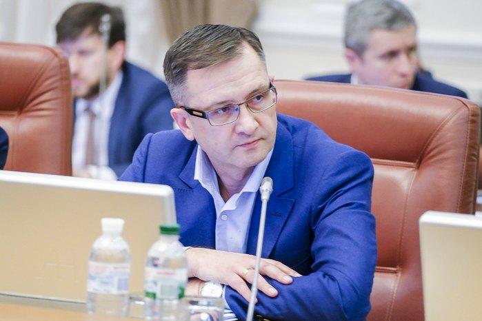 Игорь Уманский во время заседания кабмина 20 марта, 2020
