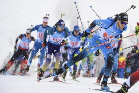Швеция вновь оставила Украину без медали на чемпионате мира по биатлону