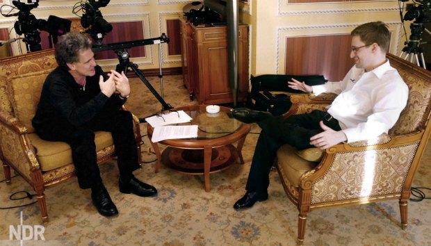 Эдвард сноуден, интервью
