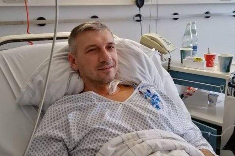 Одесский активист Михайлик рассказал о своем состоянии после операции
