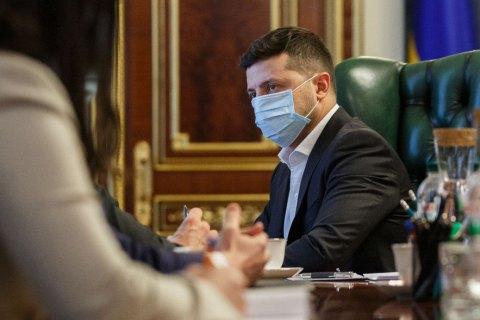 Зеленский встретился с банкирами и пообещал им сохранить независимость НБУ
