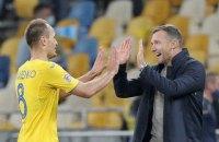 Шевченко вышел на второе место в историческом рейтинге сборной Украины