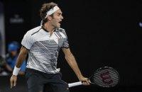 Федерер пройшов Нісікорі в 1/8 фіналу AusOpen
