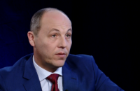 """Парубій: Замана і Голомша не виступали на """"кримському"""" засіданні РНБО"""