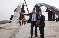 В мае начнется укладка асфальта на Подольско-Воскресенском мосту, - Кличко