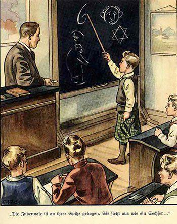 А в «Der Giftpilz» их учили обнаруживать «еврейскую шестёрку»