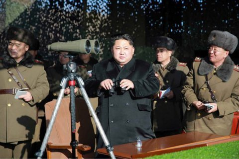 Кім Чен Ин: запуск ракети - перший крок військової операції КНДР у Тихому океані