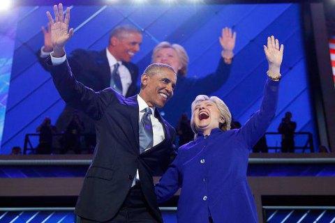 Обама и Клинтон возглавили рейтинг восхищения в США