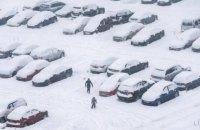 Снігопад у Києві припиниться вранці в четвер, уночі очікується до -10 градусів
