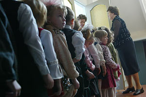 Детей в украинских садиках будут воспитывать по японским методикам