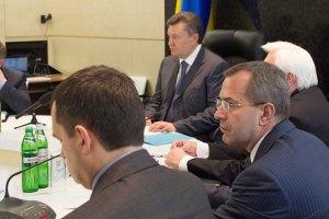 Янукович покинул Верховную Раду